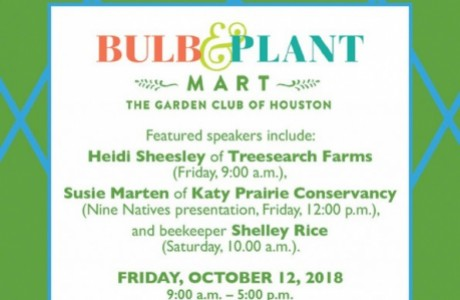 The Garden Club of Houston's Annual Bulb & Plant Mart