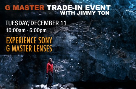 "Sony ""G"" Master Trade In Event with Jimmy Ton"