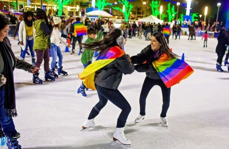 Rainbow on ICE