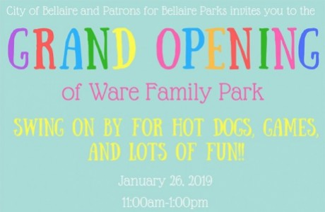 Grand Re-Opening of Ware Family Park