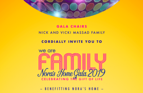 We Are Family, Nora's Home Gala 2019