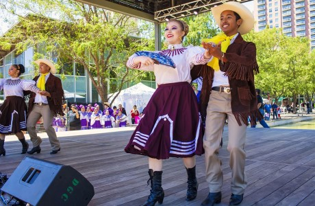 Cinco de Mayo with HSPVA at Discovery Green