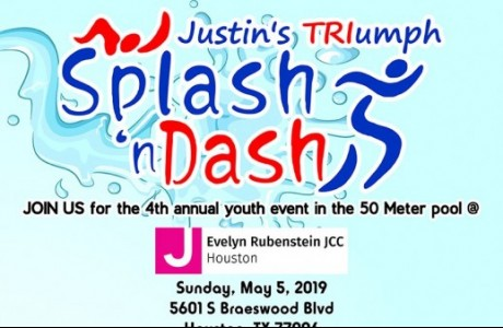 4th annual Justin's TRIumph Youth Splash 'n Dash 2019