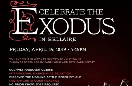 The Shul of Bellaire's Community Passover Seder