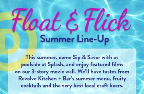 Hotel Derek's Float and Flick Summer Movie Series