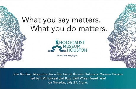 Buzz Day at Holocaust Museum Houston