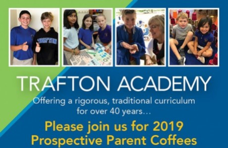 Trafton Academy Prospective Parent Coffees