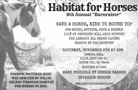 Habitat for Horses 8th Annual Barnraiser