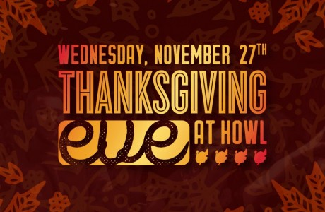 Thanksgiving Eve at Howl at the Moon Houston