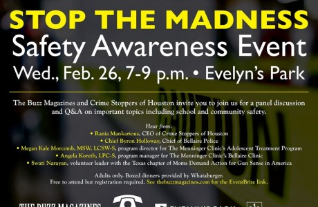 Stop the Madness: Safety Awareness Event