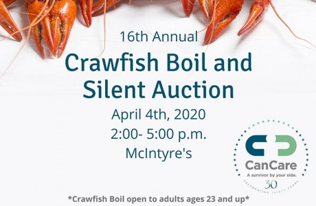 16th Annual Friends of CanCare Crawfish Boil