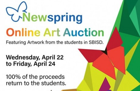 Virtual Newspring Student Art Auction