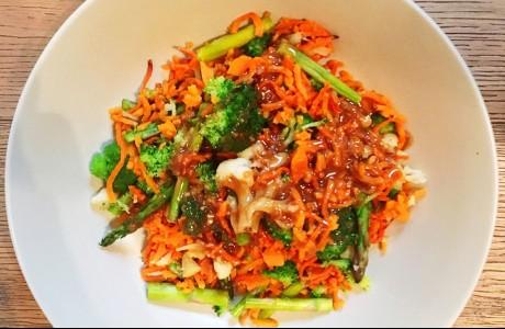 Thai Sweet Potato Noodles