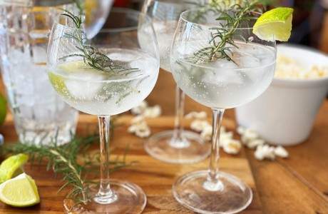 Rosemary Mojitos