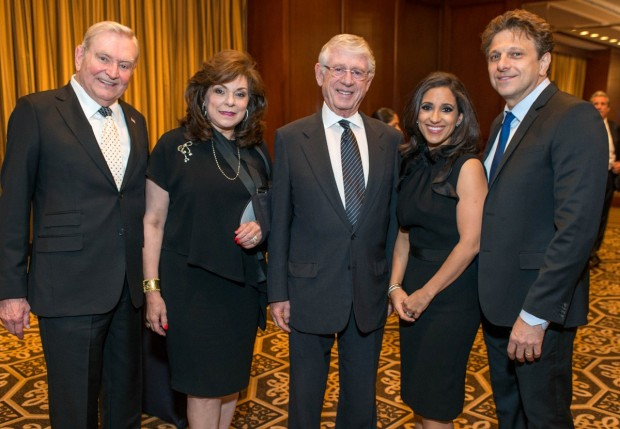 Dave Ward, Laura Ward, Ted Koppel, Rania Mankarious, Ramy Mankarious