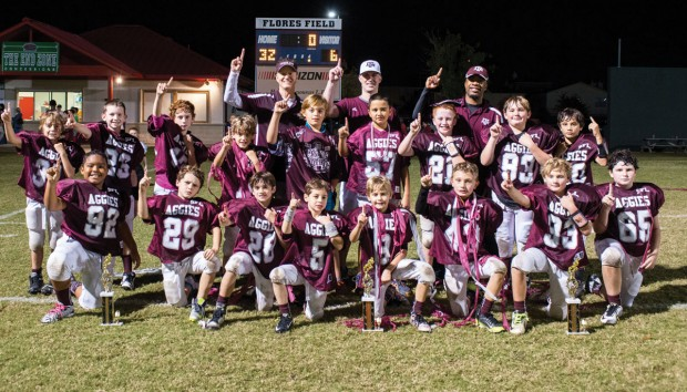 Southwest Football League sophomore division Aggies