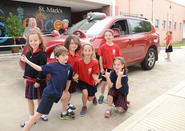 St. Mark's Episcopal School first graders