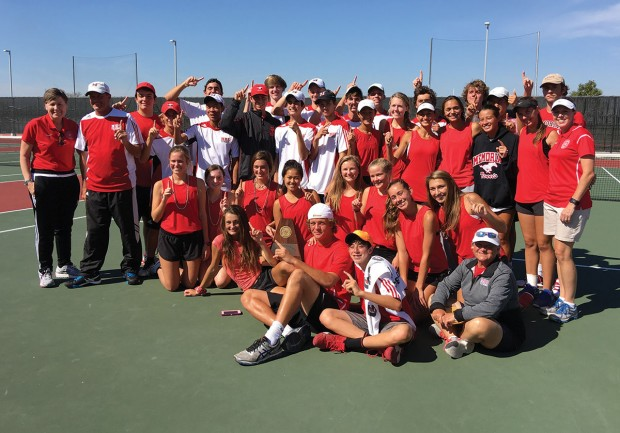Memorial Mustangs tennis team
