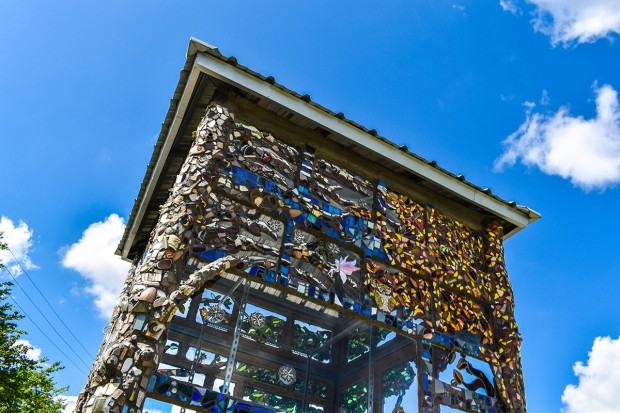 Tower of mosaics
