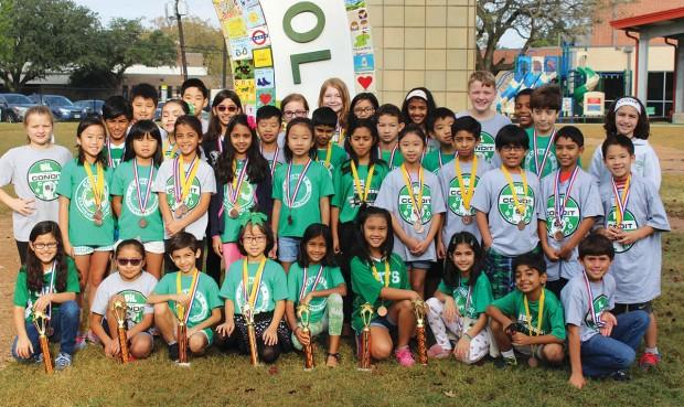 Condit Elementary School's UIL Team