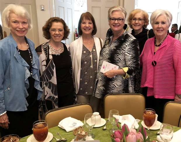 Liz Turner, Jan Glazer, Angie Heston, Beverly Schorre, Sally Grey, Carolyn Williams