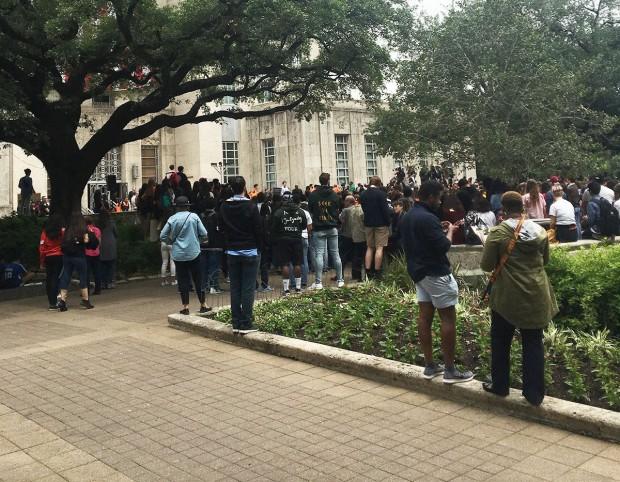 Rally at City Hall