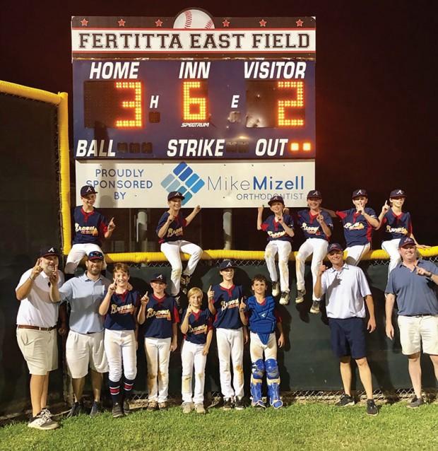 Post Oak Little League Braves