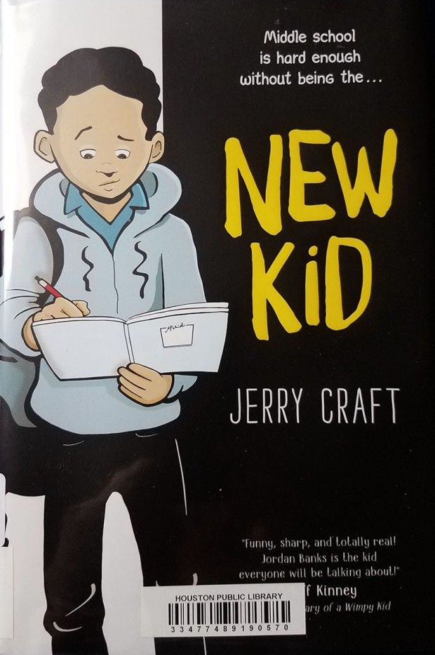 New Kid, written and illustrated by Jerry Craft