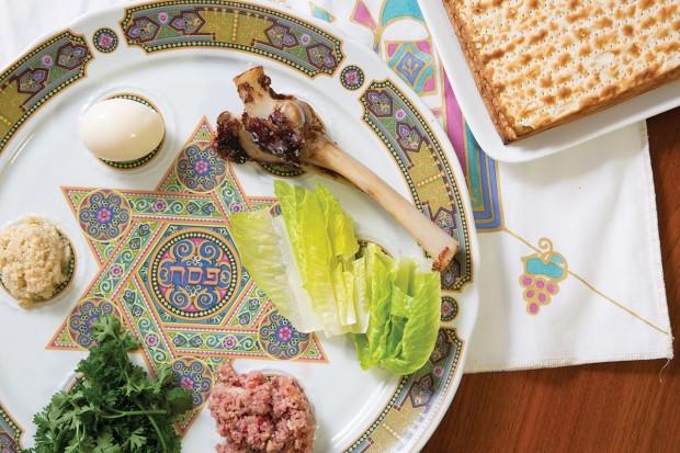 Ellen's Seder Plate