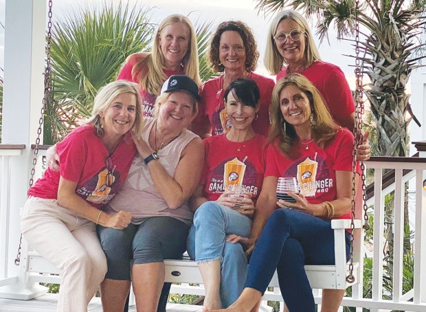 Cindy Caraher, Day Farris, Rebecca Houston, Elly Holder, Susan Farrell, Waverly Gage, Libby Lynch