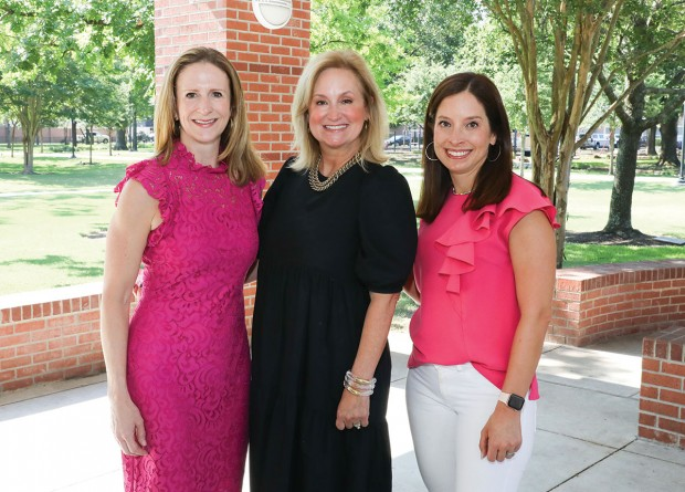 Laura Williams, Terri Tarwater, and LaJeana Hardig