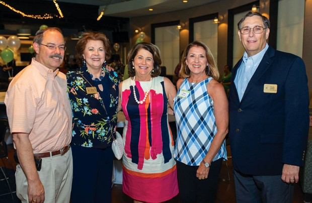 Jim Meyerhoff, Mary Stone, Mary Ann Balock, Kathy Kronzer, and Frank Kampe