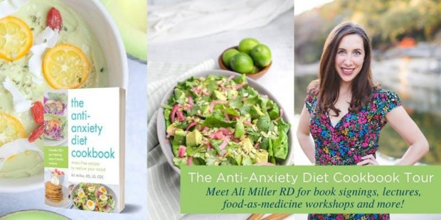 Anti-Anxiety Cookbook Tour