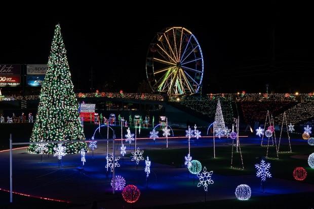 Sugar Land Skeeters Holiday Lights